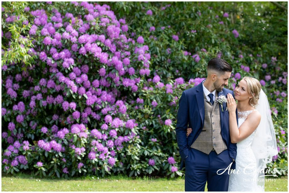 Bride and Groom at Dunchurch Park Wedding Photographer